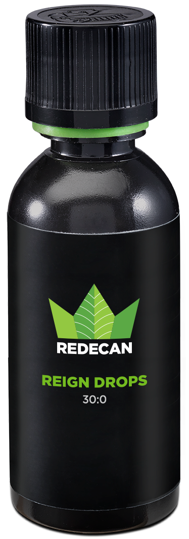 reign drops cbd oil bottle